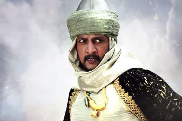 Sudeep as Aslam Khan (Courtesy: YouTube/T-Series Telugu)