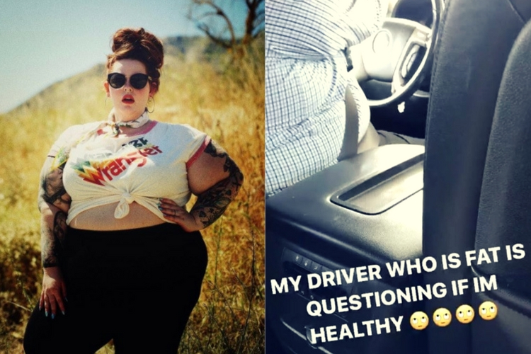 Model allegedly body-shamed by Uber driver. Will we ever stop commenting on women's bodies?