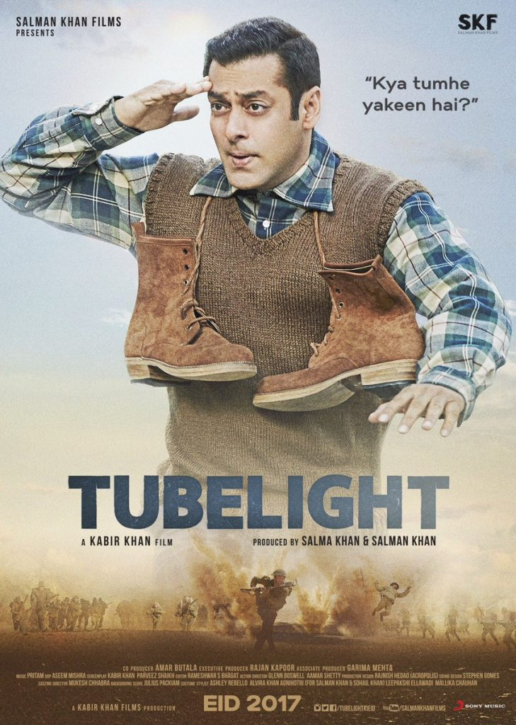 Poster of Tubelight (Courtesy: Twitter/@BeingSalmanKhan)