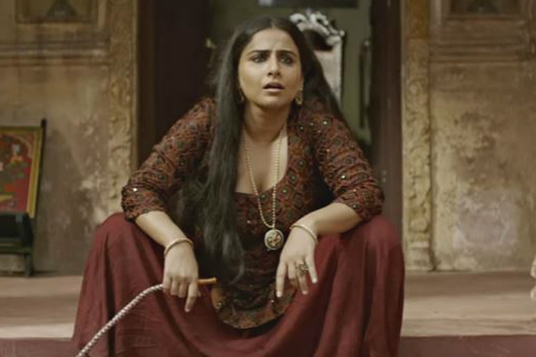 Vidya Balan in Begum Jaan (Courtesy: YouTube/Vishesh Films)