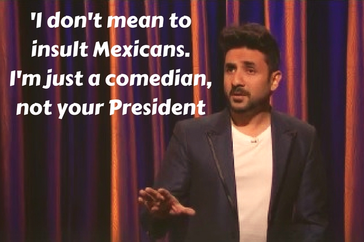 Vir Das debuts on Late Night with Conan OBrien
