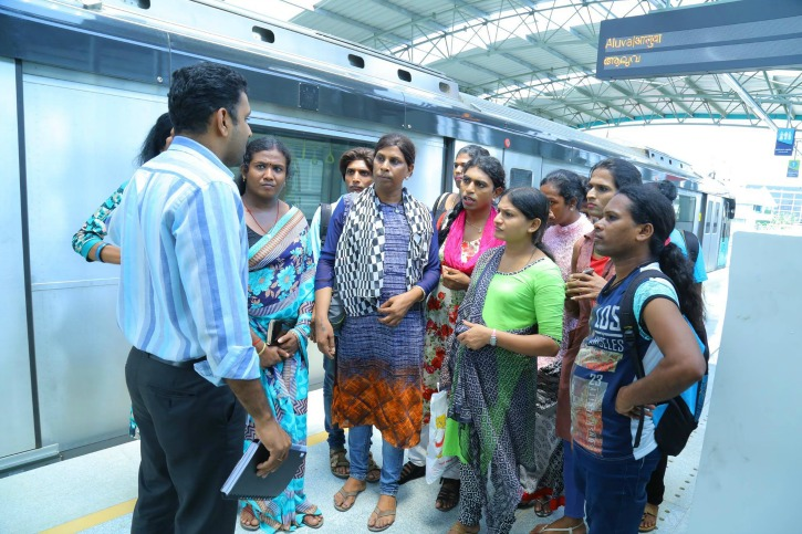 Kochi Metro Rail Ltd. has hired 23 transwomen and intends to hire more.