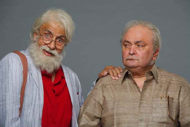 Amitabh Bachchan and Rishi Kapoor, 102 Not Out