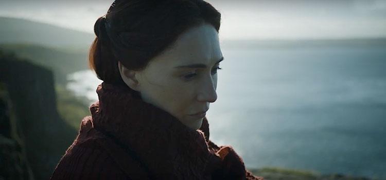 Melisandre senses the worst in the trailer of Game Of Thrones season 7
