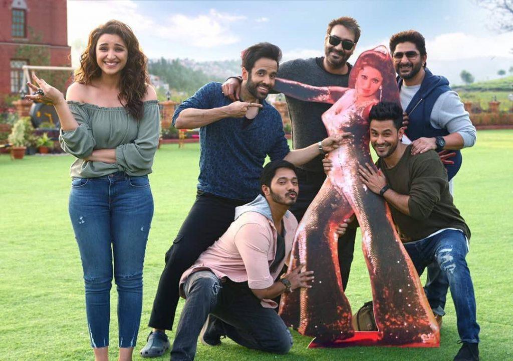 Golmaal Again' boys posed with the original Bindu