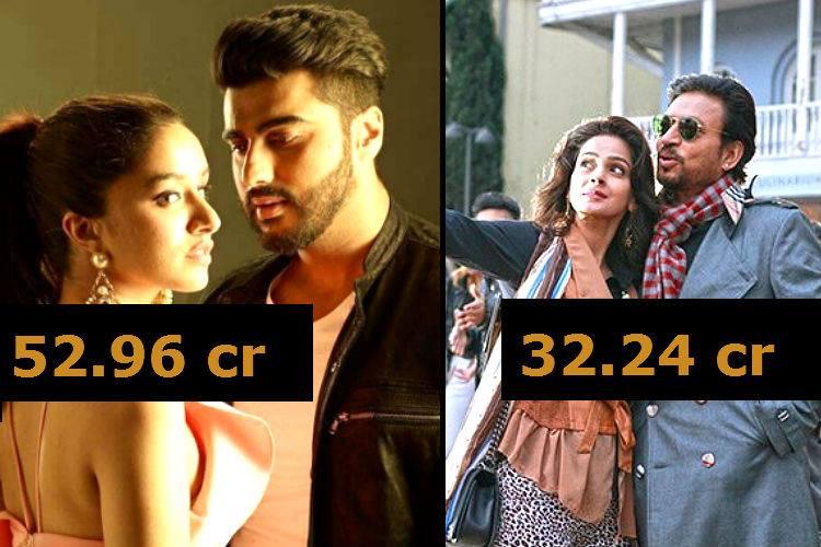 Half girlfriend vs hindi medium box office irrfan khan 39 s comedy beats arjun kapoor 39 s drama in - Box office records bollywood ...