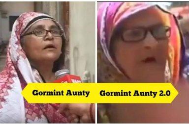 Aunty Gormint, Bik Gayi Gormint, Pakistan meme