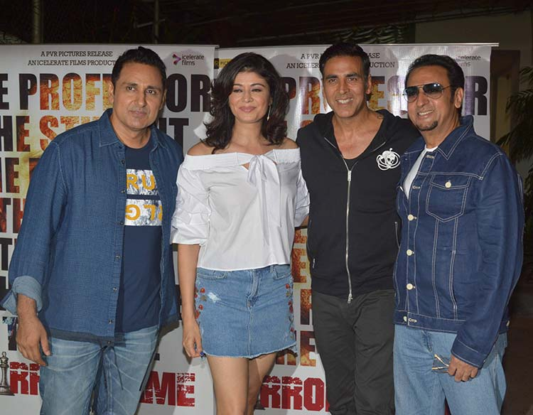 Akshay Kumar at the screening of Pooja Batra's movie Mirror Game