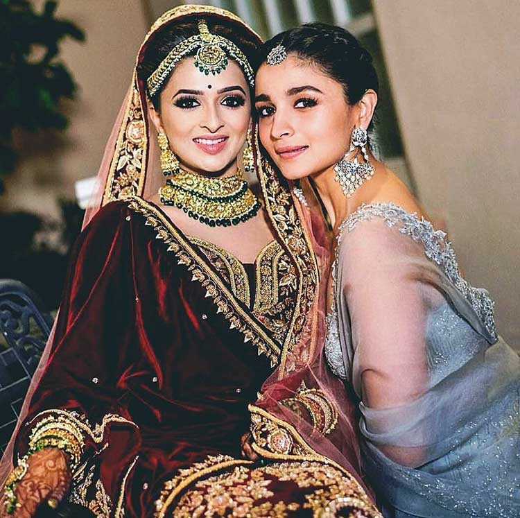 Alia Bhatt with her newly married bestie Kripa Mehta