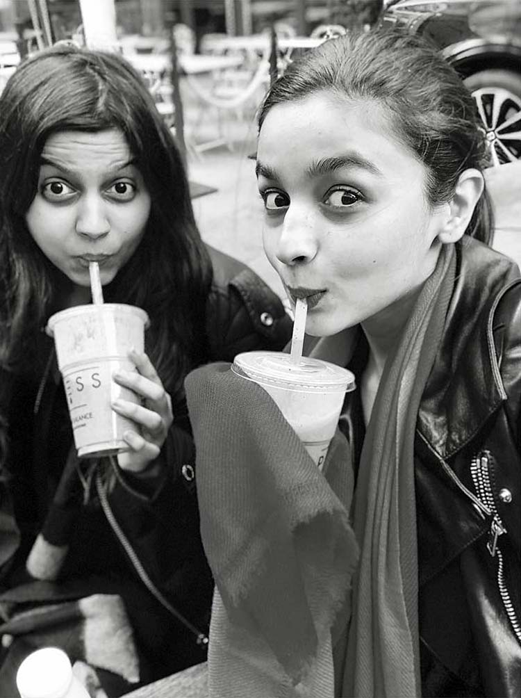 Alia Bhatt's cute birthday wish for sister Shaheen