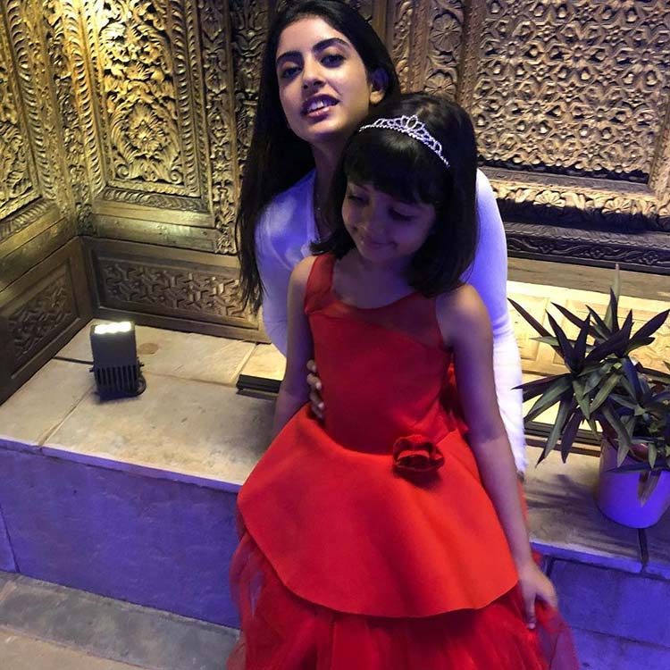 Amitabh Bachchan has shared a beautiful pic of his granddaughters on Instagram