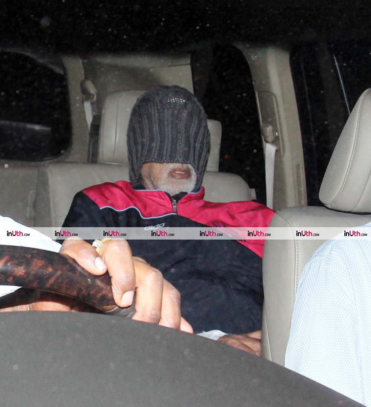 Amitabh Bachchan snapped outside Lilavati hospital
