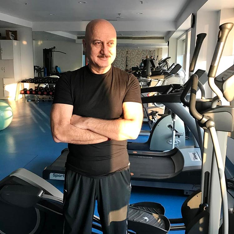 Anupam Kher is giving us fitness goals