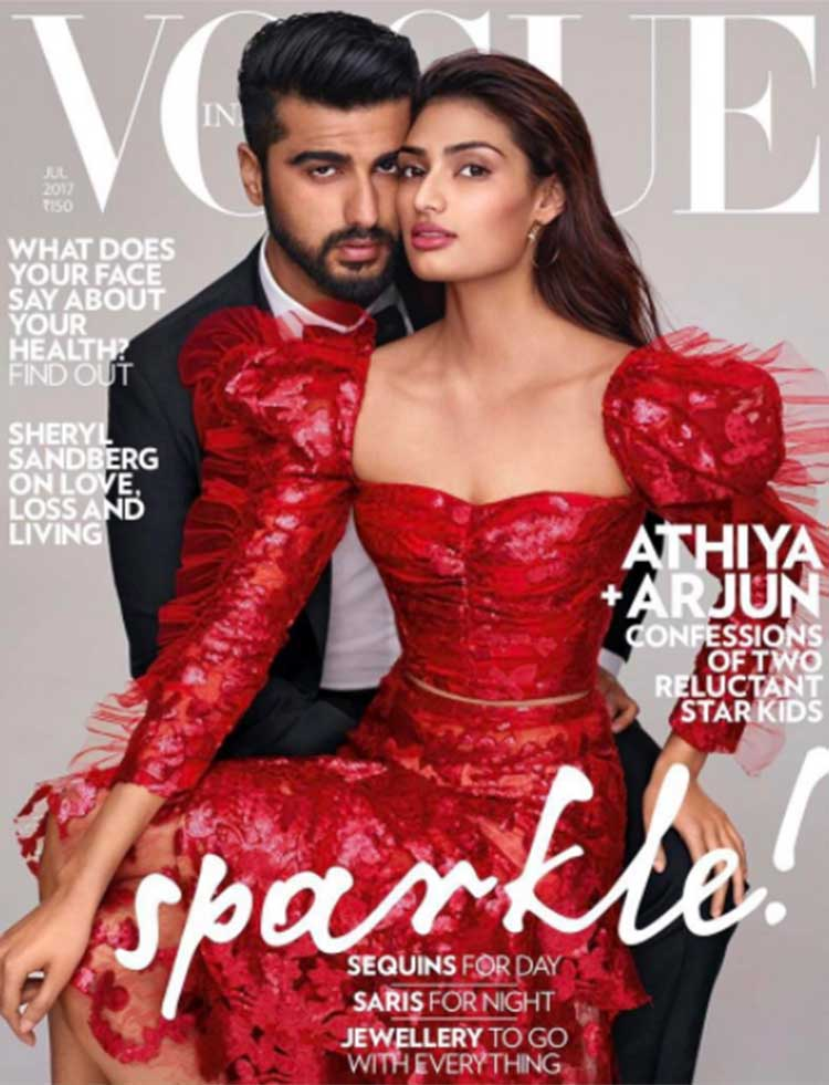 Arjun Kapoor shares his new Vogue cover on Instagram