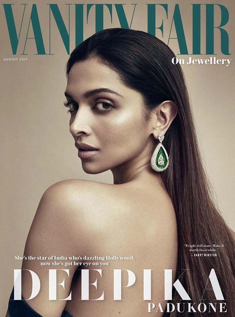 Deepika Padukone is scorching this magazine cover with her hot personality