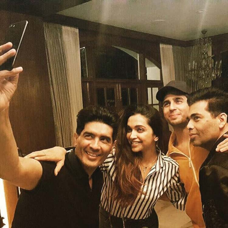 Deepika Padukone parties with her friends from Bollywood