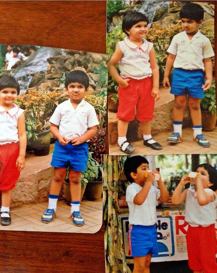 Deepika Padukone's cute pic with her childhood friend