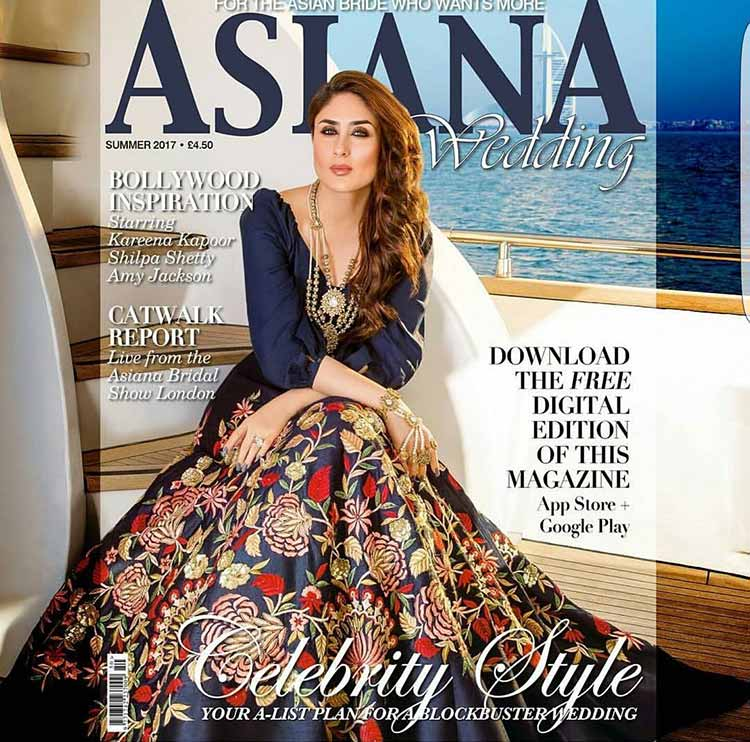 Kareena Kapoor is looking gorgeous on the Asiana magazine cover