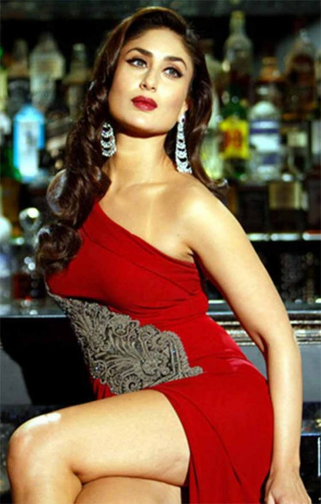 Kareena Kapoor looks fiery hot in red
