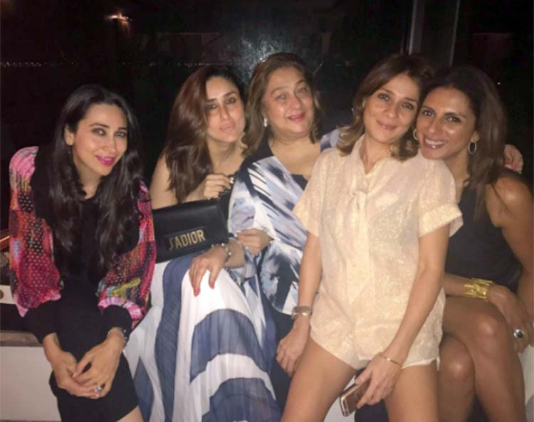 Kareena Kapoor on a dinner date with family