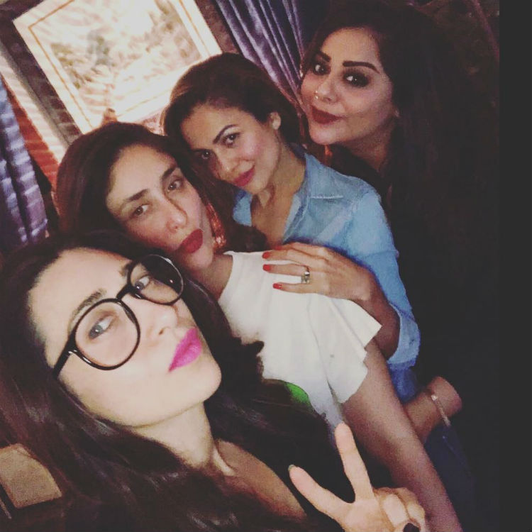 Kareena Kapoor partied with her girl gang on January 10, 2018