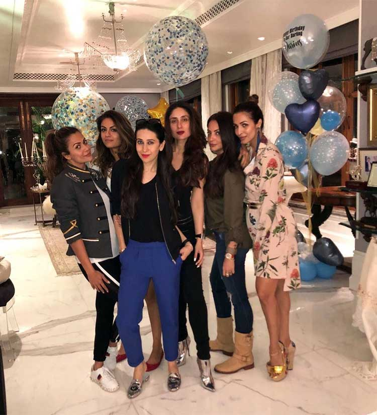Kareena Kapoor partying with her girl squad