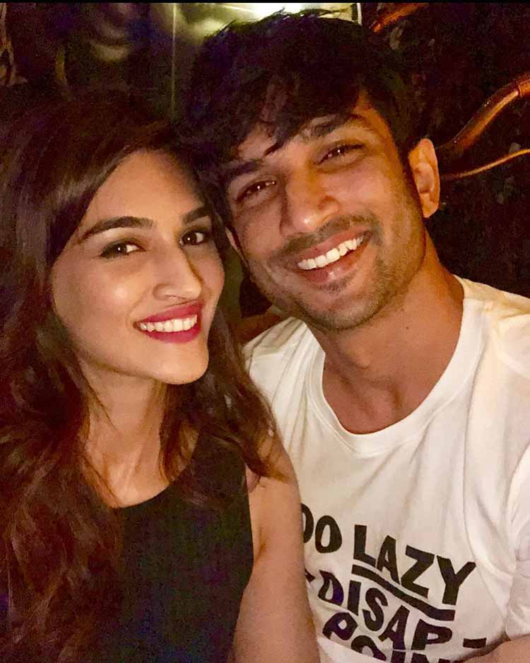 Kriti Sanon's beautiful birthday wish for Sushant Singh Rajput