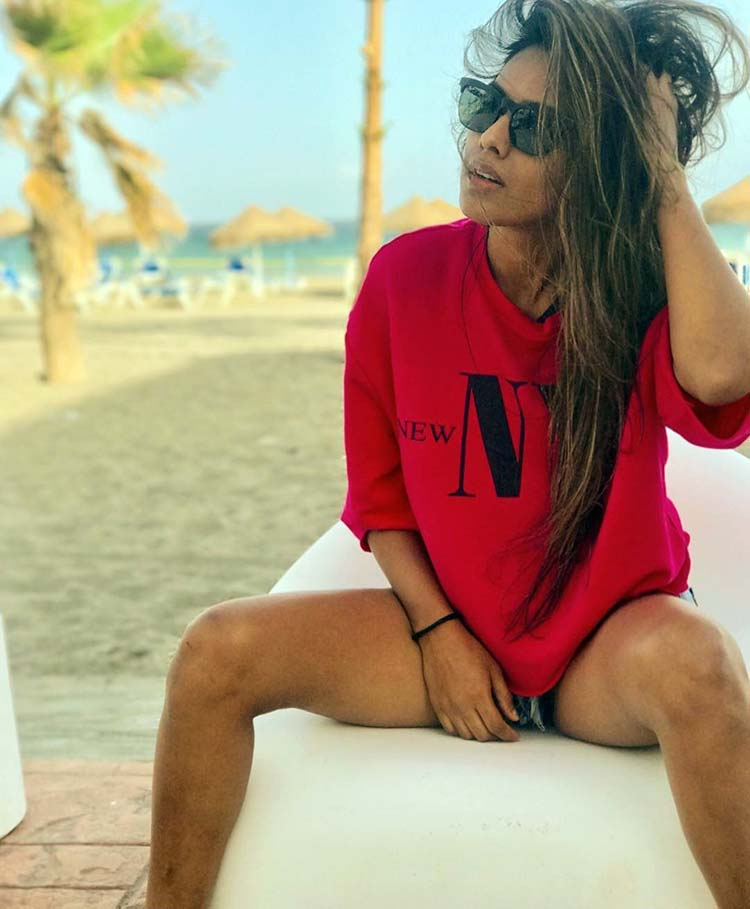 Nia Sharma looks like a bombshell in this hot photo