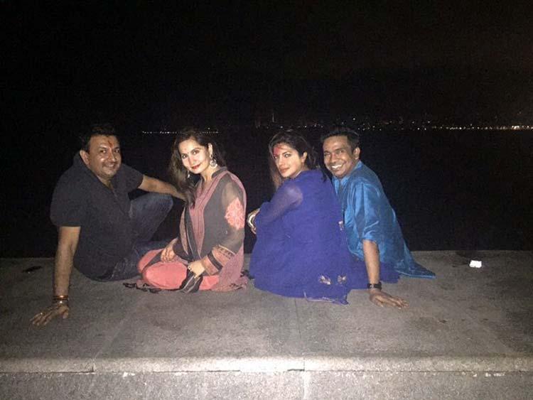 Priyanka Chopra enjoys some personal time at the Marine Drive