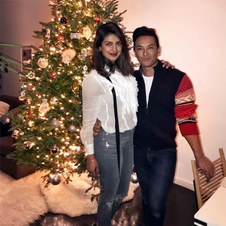 Priyanka Chopra's early Christmas celebrations with Prabal Gurung
