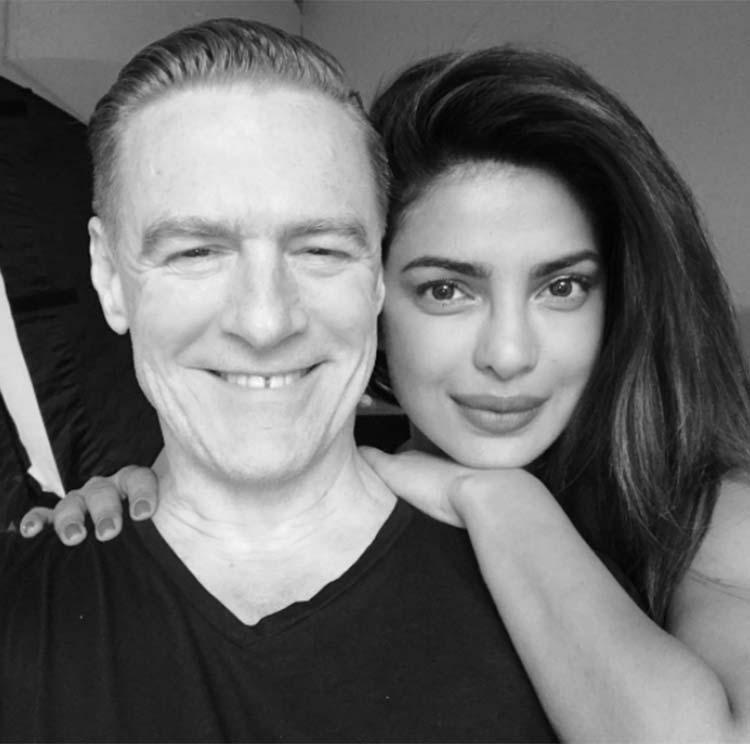 Priyanka Chopra's insta selfie with Bryan Adams