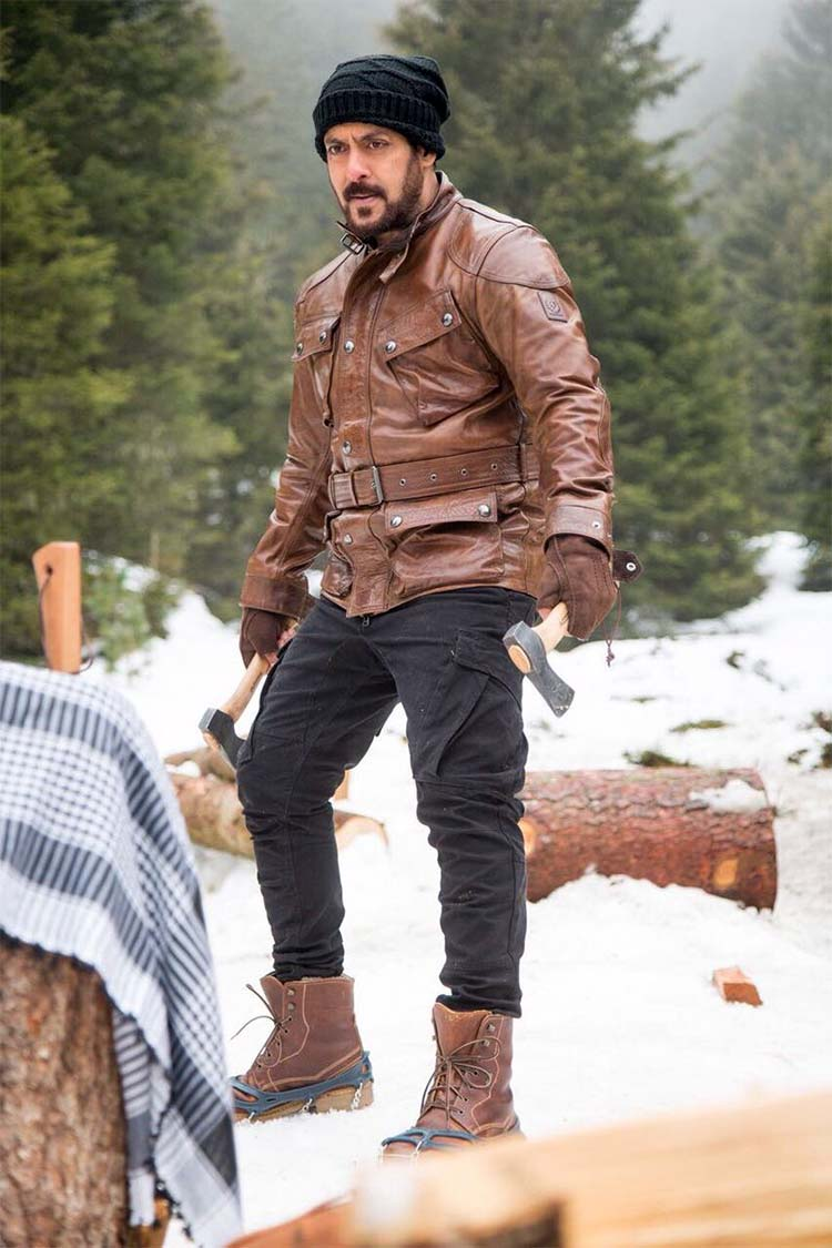Salman Khan in the latest still from his latest movie Tiger Zinda Hai