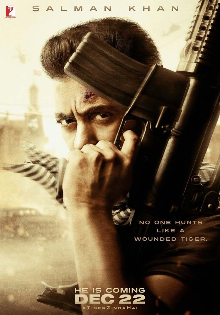 Salman Khan shares the first poster of Tiger Zinda Hai