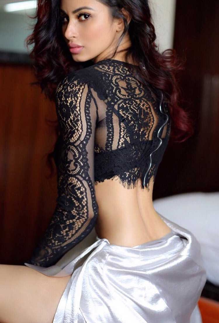 Sexy Mouni Roy turning up the heat in laces
