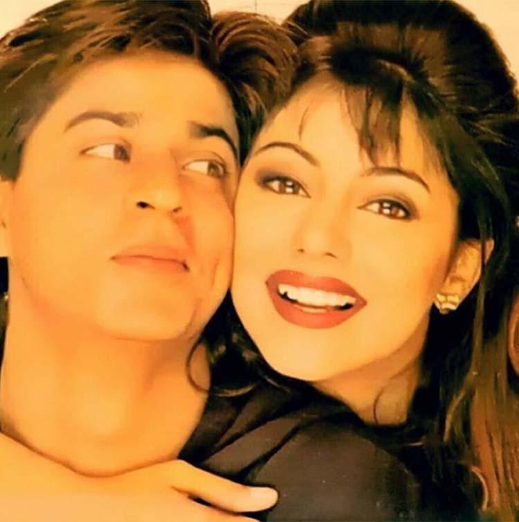 Shah Rukh Khan and Gauri Khan's retro look from their personal album