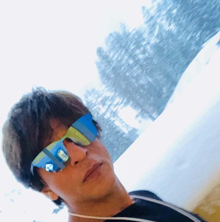 Shah Rukh Khan in Switzerland for World Economic Forum 2018
