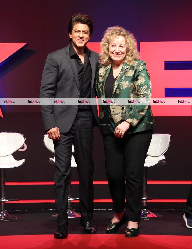 Shah Rukh Khan launches TED Talks India