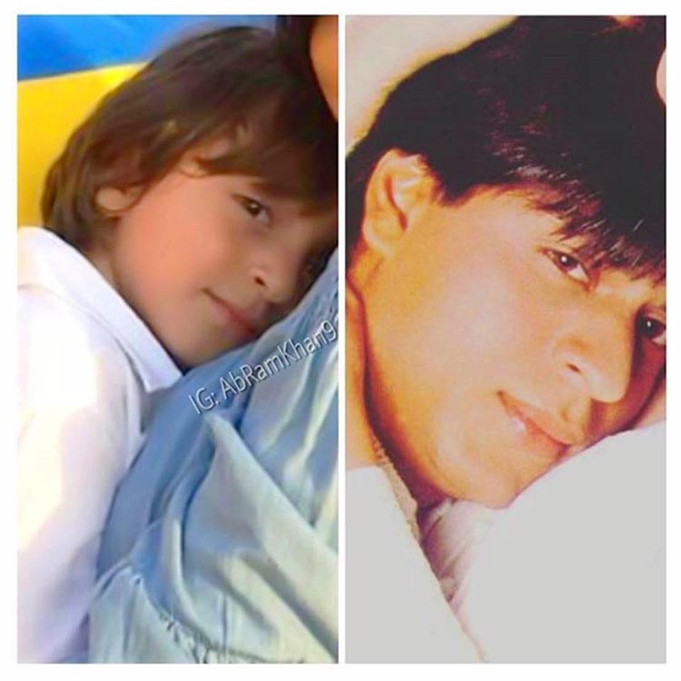 Shah Rukh Khan's special photo for Abram from his personal gallery