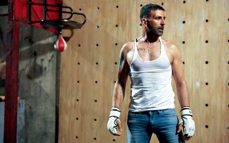 Akshay Kumar in a still from Brothers