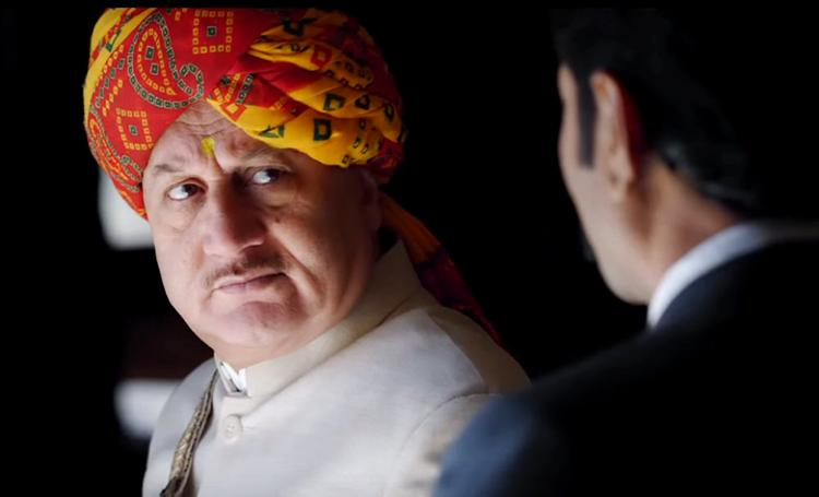 Anupam Kher in a still from Prem Ratan Dhan Payo