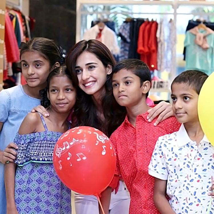 Disha Patani spends some personal moments with these tiny tots