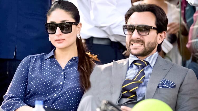 Kareena Kapoor in a candid click with Saif Ali Khan