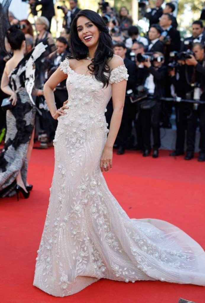 Mallika Sherawat on the Cannes 2017 red carpet