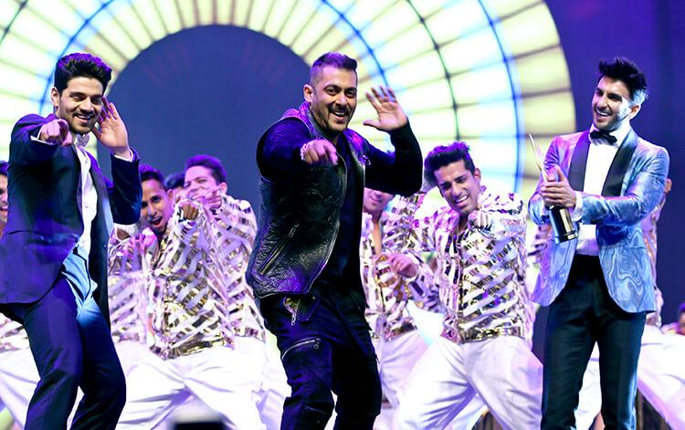 Salman Khan at International Indian Film Academy awards 2016