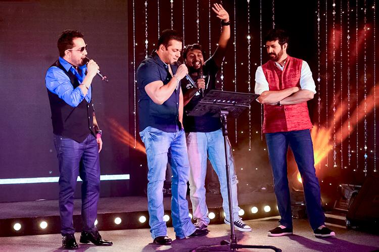 Salman Khan at the launch event of 'Aaj Ki Party Meri Taraf Se'