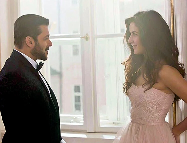 Salman Khan shares the first look of Tiger Zinda Hai