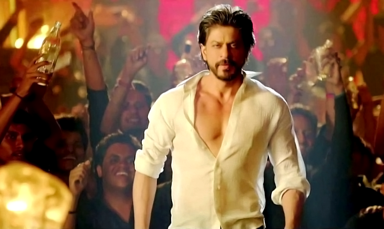 Shah Rukh Khan slaying in Happy New Year