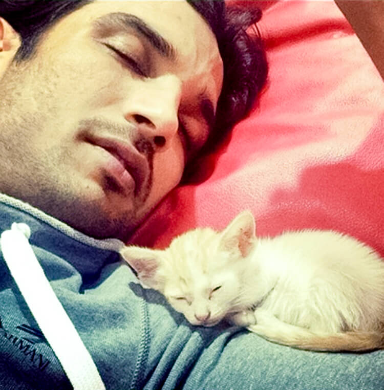 This is the cutest pic of Sushant Singh Rajput from his personal insta handle