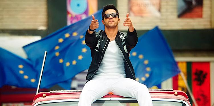 Varun Dhawan In A Still From Dilwale