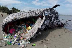 Dead Whale Project of Greenpeace Philippines: Stirring art installation will show you the reality of marine life